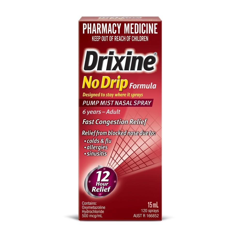 drixine nasal spray how to use