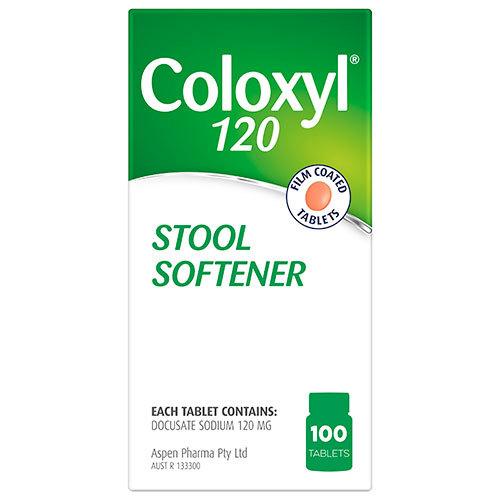 Djp Coloxyl 120mg 100 Tablets Ebay