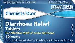 Diarrhoea relief tablets