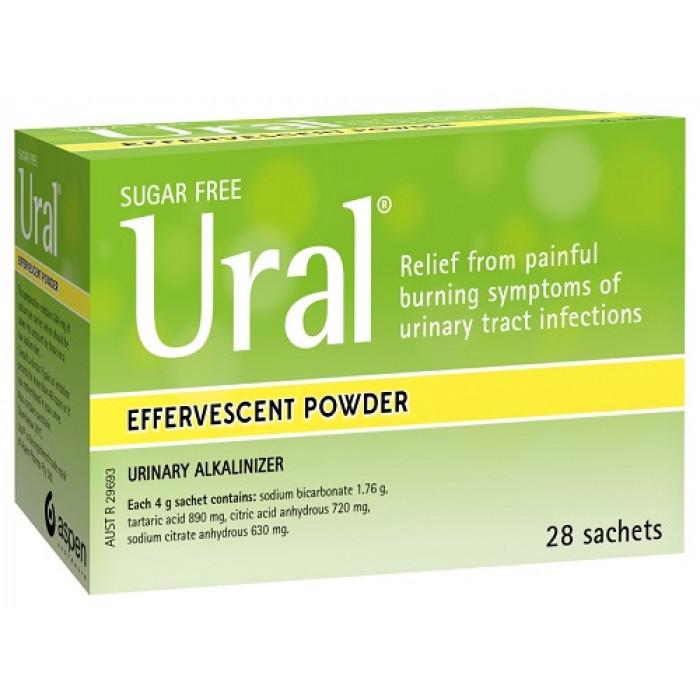 Ural sachets bladder infection