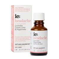 In Essence Headache Oil Blend 25mL