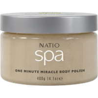 Natio Spa One Minute Miracle Body Polish 400g