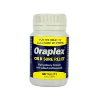 Oraplex Cold Sore Relief 30 Tablets