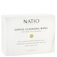 Natio Gentle Cleansing Wipes 24
