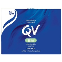 Ego QV Cleansing Bar Twin Pack 100g x 2