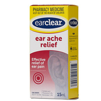 Ear Clear Ear Ache Relief 15mL