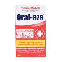 Oral-eze Dental Emergency Toothache Medication 5mL