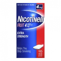 Nicotinell Chewing Gum 4mg Fruit 96