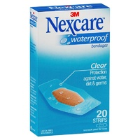 Nexcare 3M Waterproof Bandages 20
