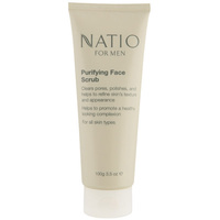 Natio For Men Purifying Face Scrub