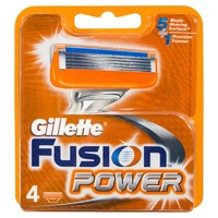 Gillette Fusion Power Blade Refill 4 Pack