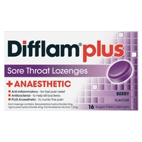 Difflam AAA Lozenges Berry 16