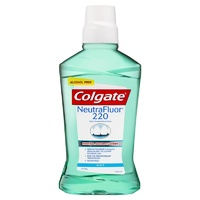 Colgate NeutraFluor 220 Alcohol Free Mouth Rinse Mint 473mL