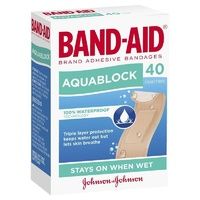 Band-Aid Aquablock Sterile Strips 40