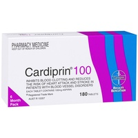 Cardiprin 100mg 180 Tablets