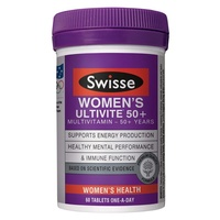 Swisse Women's Ultivite 50+ 60 Tablets