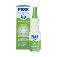 Fess Sensitive Noses Saline Nasal Spray 30mL