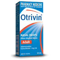 Otrivin Nasal Drops Adult 10mL