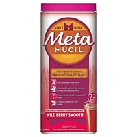 Metamucil Smooth Wild Berry 425g