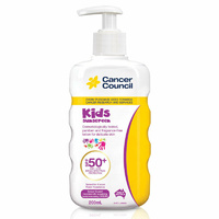 Cancer Council Kids Sunscreen SPF50+ 200mL