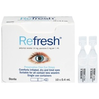Refresh Eye Drops 10 x 0.4 mL