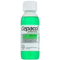 Cepacol Antibacterial Mint Mouthwash 150mL