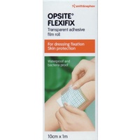 Opsite Flexifix Transparent Adhesive Film Roll 10cm x 1m