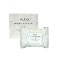 Natio Eye Makeup Remover Wipes 30