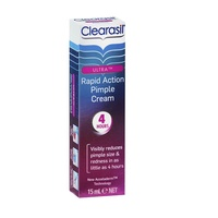 Clearasil Ultra Rapid Pimple Action Cream 15mL