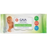Gaia Natural Baby Bamboo Baby Wipes 80