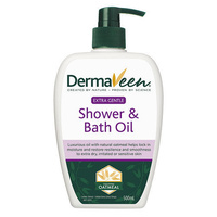 DermaVeen Shower & Bath Oil 500mL