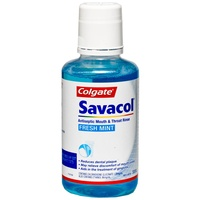 Colgate Savacol Fresh Mint Mouthwash 300mL