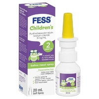 FESS Saline Nasal Spray for Kids 20mL