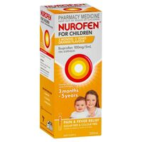 Nurofen for Children 1-5 Years Orange 200mL