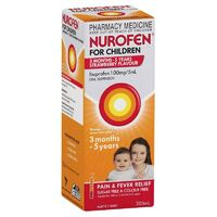 Nurofen for Children 1-5 Years Strawberry Flavour 200mL