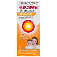 Nurofen for Children 1-5 Years Orange 100mL
