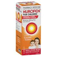 Nurofen for Children 1-5 Years Strawberry 100mL