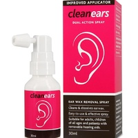 CleanEars Dual Action Spray 30mL