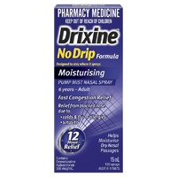 Drixine No Drip Moisturising Nasal Spray 15mL (120 Sprays)