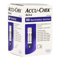 Roche Accu Chek Aviva Blood Glucose Test Strips (50 Tests)