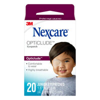 Nexcare Opticlude Orthoptic Eye Patch Junior 20