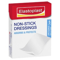 Elastoplast Non-Stick Dressings 5cm x 7.5cm 5pcs