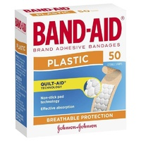 Johnson's Band-Aid Plastic Strips 50