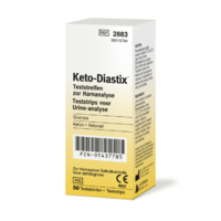 Bayer Keto-Diastix | Urinalysis Reagent Strips (50 Tests)