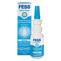 FESS Nasal Spray 30mL | Non Medicated Saline Spray