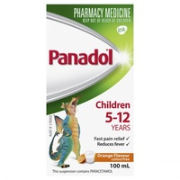 Panadol Children's 5-12 Years Orange 100mL
