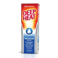 Deep Heat Regular Relief Rub 100g | Mentholatum