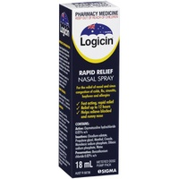 Logicin Nasal Spray 18mL Rapid Relief