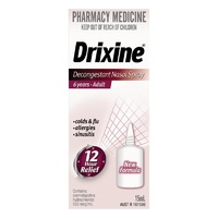 Drixine Decongestant Nasal Spray Adult 15mL