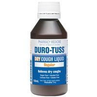 Duro-Tuss Dry Cough Relief Liquid Regular 100mL